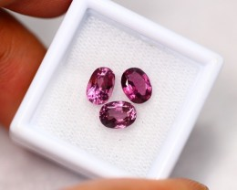 3.44Ct Natural Pink Spinel Oval Cut Lot A966