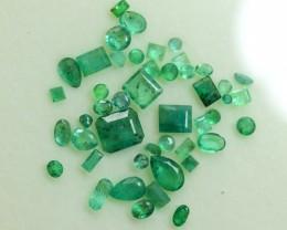 9.10 Carats ~ Natural Swat Emerald Gemstones Lot