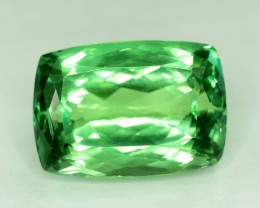 NR - 37.20 cts Lush Green Spodumene from Afghanistan