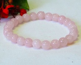 Natural Rose Quartz Bacelet  WS260