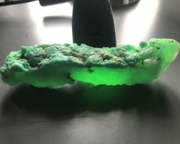 680Ct Ultra Green Chrysoprase from Baubau Sulawesi Rare