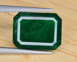 Natural Emerald 4.60 Cts Muzo Green from Swat MIne, Pakistan