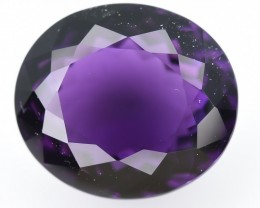 11.60 Crt Amethyst Top Quality From Uruguay Faceted Gemstone