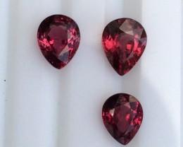 4.cts Very beautiful Rhodolite Garnet Gemstones ad