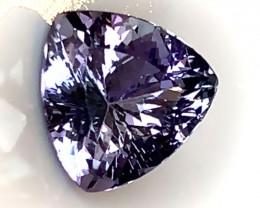 2.11ct Certified Tanzanite - VVS Large Beautiful Stone