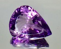 13.48 Crt Natural Amethyst Faceted Gemstone.( AG 74)