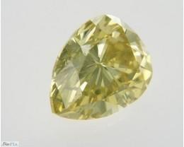 Natural Fancy Deep Yellow Diamond GIA certified  + Video