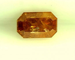0.30ct Fancy reddish Orange  Diamond , 100% Natural Untreated