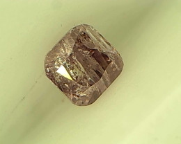 0.18ct Fancy Intense Purple Pink Diamond , 100% Natural Untreated