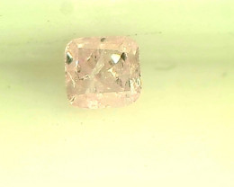 0.08ct Fancy Intense Pink  Diamond , 100% Natural Untreated