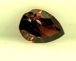 0.11ct Fancy Brown Red  Diamond , 100% Natural Untreated