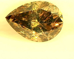 0.56ct  Fancy Brown  Diamond , 100% Natural Untreated