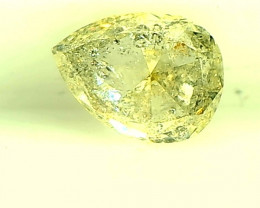 0.30ct Light Green Diamond , 100% Natural Untreated