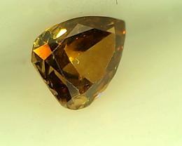 0.22ct Fancy Intense Brownish  Orange Diamond , 100% Natural Untreated
