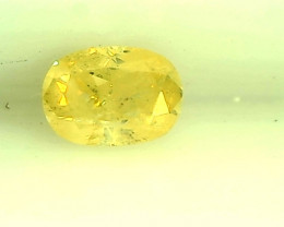 0.20ct Fancy Yellow  Diamond , 100% Natural Untreated
