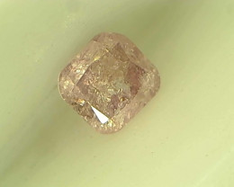0.15ct Fancy Intense Pink Diamond , 100% Natural Untreated