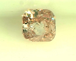 0.18ct  Fancy Pink Diamond , 100% Natural Untreated