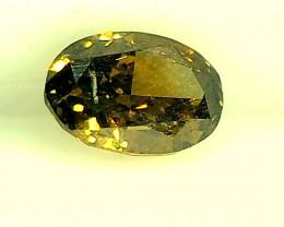0.40ct Brownish Green  Diamond , 100% Natural Untreated