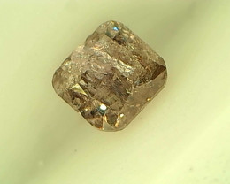 0.21ct Purple Pink Diamond , 100% Natural Untreated