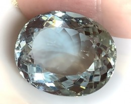 ON SALE ONE WEEK ONLY  SILVERY AQUA BLUE NATURAL TOPAZ 47.18CTS VVS GEM -