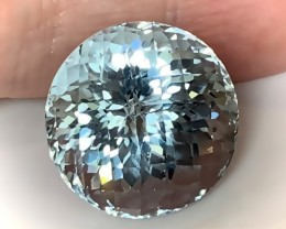Extraordinary Ice Blue Natural Topaz 50.47cts Flawless gem
