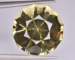 Natural Lemon Quartz 11.78 Cts Faceted Gemstone