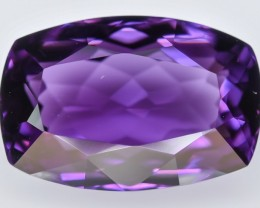 13.25 Crt Amethyst Top Quality Uruguay Faceted Gemstone (R50)