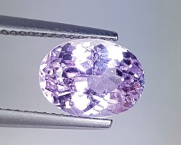 """3.63 ct """" Collective Gem"""" Amazing Oval Cut Natural Kunzite"""