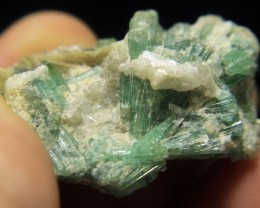 Very Beautiful Cluster of Tourmaline From Afghanistan