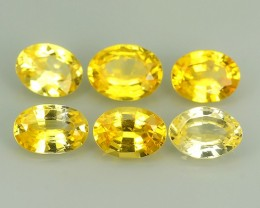 3.35 CTS EXCELLENT NATURAL ULTRA RARE FANCY -YELLOW-MADAGASCAR SAPPH