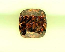 0.24ct Reddish Orange   Diamond , 100% Natural Untreated