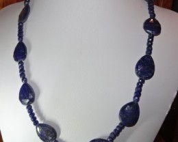 18 INCH SAPPHIRE NECKLACE