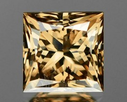 1.00 CTS UNTREATED NATURAL FANCY  ORANGY YELLOWISH BROWN LOOSE DIAMOND SI2