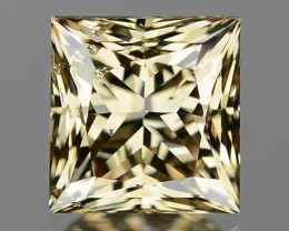 1.00 CTS UNTREATED NATURAL FANCY YELLOWISH BROWN COLOR LOOSE DIAMOND SI2