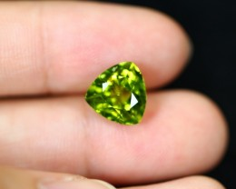 3.95cts Natural Green Color Himalayan Peridot