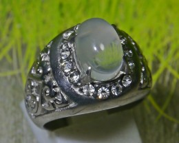 42.10 CT UNTREATED Indonesian Crystal Opal Ring Jewelry
