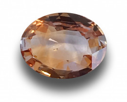 Natural Orangish Pink Sapphire|Loose Gemstone| Sri Lanka - New