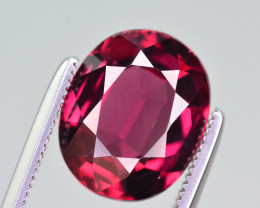 AAA Color 4.35 Ct Natural Rhodolite Garnet. ARA