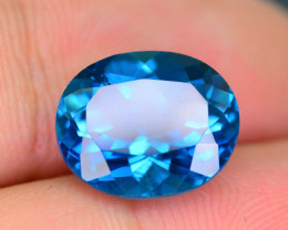 AAA Color 6.21 ct London Blue Topaz SKU.2