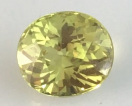 Brilliant Sparkles 1.25ct  Yellowish Green Mali Garnet - TH152 G223