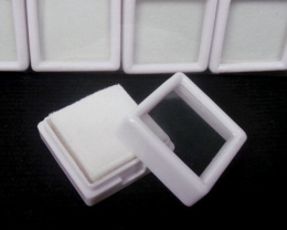 20 Boxes/ 3x3cm gemstone display box Collection