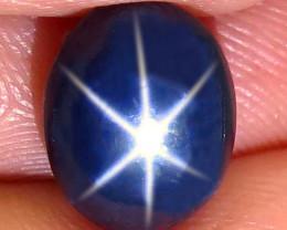 5.46 Carat Thailand Diffusion Star Sapphire - Gorgeous