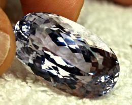 50.2 Carat Blue Himalayan VS Spodumene - Superb