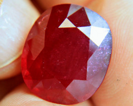 CERTIFIED - 22.93 Carat Fiery Red Ruby - Gorgeous