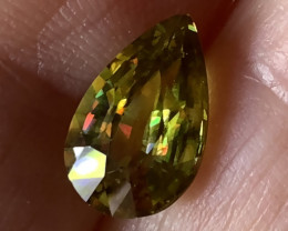 3.27ct Phenomenal Sphene - Stunning Stone - Rare find