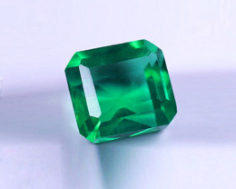 1.38 ct  Magnificent Color Top  Natural Zambian Emerald