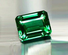 1.33 ct Extremely Bright And Glowing  top Natural Emerald