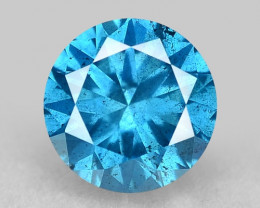 0.41 Ct Blue Diamond Top Class Gemstone Db11