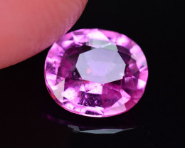 GIL Certified Marvelous Color 1.02 Ct Natural Pink Sapphire
