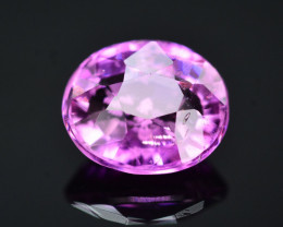 GIL Certified 1.43 Ct Natural Pink Sapphire